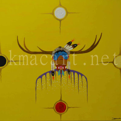Elk Medicine (30x36) inches