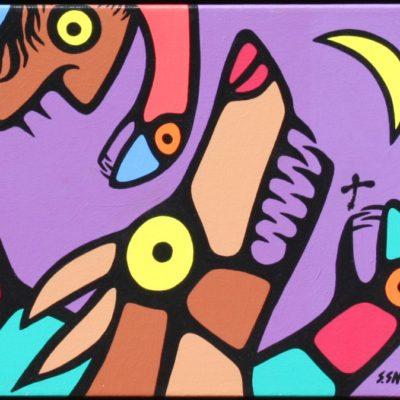 Wolfman (10x12)