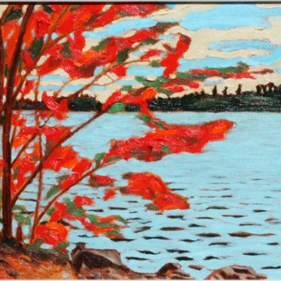 Red Maple Temagami (11x14)