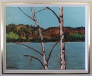 Birches (8x10)