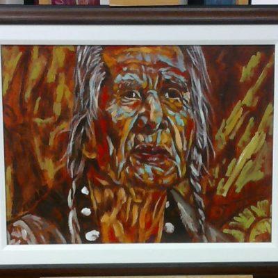 Chief Dan George (18x24) inches