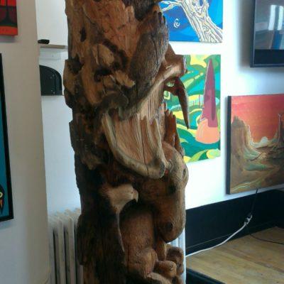 Totem Pole by Dreamwalker