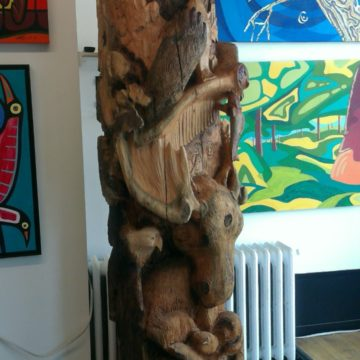 Totem Pole Finished!