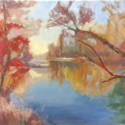 Autumn's Arrival by Kim Wilkins (18x24) inches - Also check out his website www.KNWILKINS.com