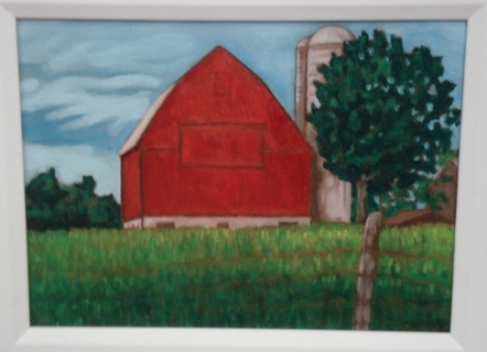 Rama Red Barn (9x12)