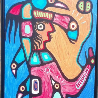 Biauswah Chippewa Chief 1990 (24x30) inches