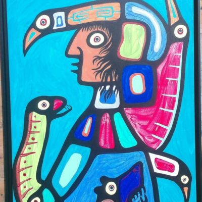 Kagigegabo Chippewa Medicine Man  1808 (24x30) inches